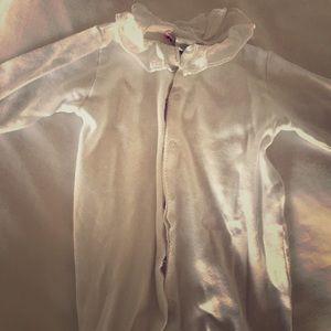 Bonpoint unisex white onesie